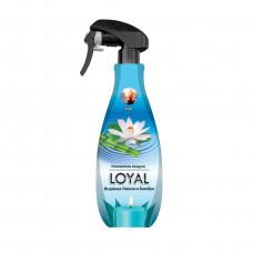 """Освежитель воздуха Премиум """"LOYAL"""" (Лоял) Утро: Водяная лилия и Бамбук 450 мл / Иордания"""