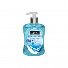 """Жидкое мыло для рук и тела """"LOYAL"""" (Лоял) Голубая Магия 500 мл / Иордания"""