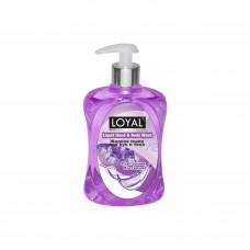 """Жидкое мыло для рук и тела """"LOYAL"""" (Лоял) - Пурпурная Мистерия 500 мл / Иордания"""