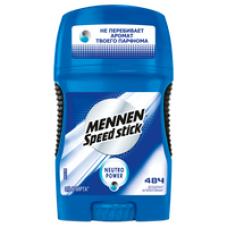 Mennen Speed Stick Neutro Power дезодорант-антиперспирант в карандаше мужской, 50 г