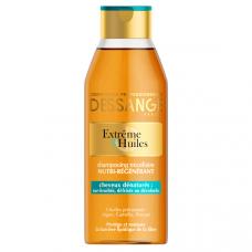 """Dessange (Дессандж) Шампунь для волос """"Extreme (Экстрим), 3 масла"""", экстремальное восстановление, для сильно поврежденных волос, 250 мл"""