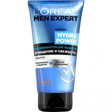 """L'Oreal Paris (Лореаль) Men Expert (Мен Эксперт) Ежедневный гель для умывания """"Hydra Power"""" """" очищающий, освежающий, 150 мл"""