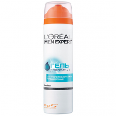 L'Oreal Paris (Лореаль) Men Expert (Мен Эксперт) Гель для бритья для чувствительной кожи, 200 мл