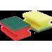 ЧИСТЮЛЯ 5 КОМФОРТ губки поролоновые с абразивом (с фаской) 5 шт.
