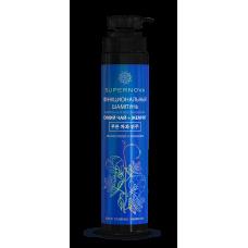 SuperNova Функциональный Шампунь Синий Чай + Жемчуг укрепление и восстановление 350мл