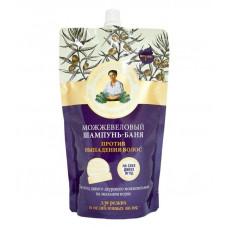 Рецепты бабушки Агафьи / Бальзам-баня Против выпадения волос можжевеловый 500 мл