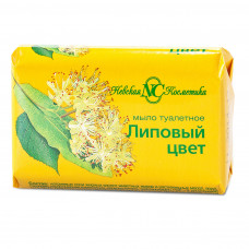 """10181 Мыло""""Липовый цвет""""90г   /Невская Косметика/"""