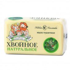 """0194 Мыло туалетное  """"Хвойное"""" в этикетке  140г.   /Невская Косметика/"""