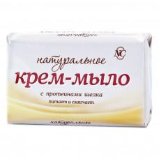 10201 Крем-мыло «Натуральное» с протеинами шелка   90г   /Невская Косметика/