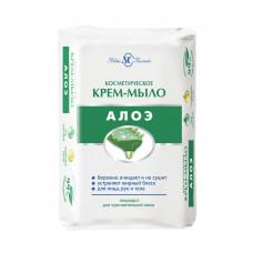 10214 Крем-мыло  косметическое  Алоэ  90г   /Невскеая Косметика