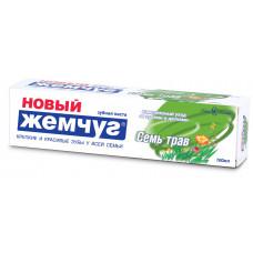 """17127 З/п """"Новый Жемчуг""""Компл. Семь трав 100мл    /Невская Косметика/"""