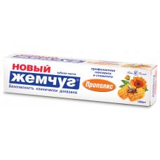 """17185 Зубная паста """"Новый Жемчуг Прополис"""" 100мл   /Невская Косметика/"""