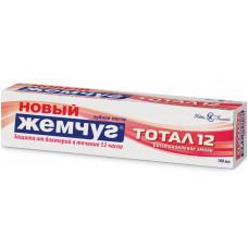 17458  Зубная паста  «Новый Жемчуг Тотал 12 Восстановление эмали»  100 мл Комплексная защита от бактерий /Невская Косметика/