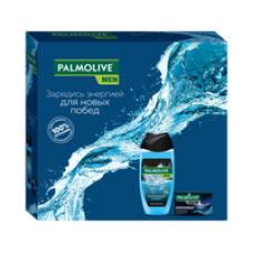 Подарочный набор Palmolive (Палмолив)Men Спорт и Северный Океан (гель для душа Спорт 250 мл, туалетное мыло Северный Океан 90г)