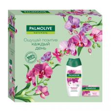 Подарочный набор Palmolive  (Палмолив) Натурэль Роскошная Мягкость (гель для душа Орхидея 250 мл, туалетное мыло Орхидея 90г)