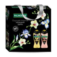 Подарочный набор Palmolive (Палмолив) Роскошь Масел (гель для душа Инжир 250 мл, гель для душа Авокадо 250 мл)