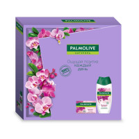 """Подарочный набор Palmolive (Палмолив) Натурэль """"Роскошная мягкость"""" (гель для душа 250 мл и туалетное мыло 90 г)"""
