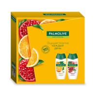 """Подарочный набор Palmolive (Палмолив) Натурэль """"Витаминный заряд"""" (гель для душа Витамин В и Гранат 250 мл и гель для душа Витамин С и Апельсин 250 мл)"""