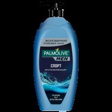 Palmolive (Палмолив) MEN Спорт Восстанавливающий мужской гель для душа 3 в 1 для тела, лица и волос,  750 мл