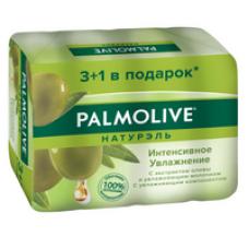 Palmolive (Палмолив) Натурэль Интенсивное увлажнение туалетное мыло с экстрактом Оливы и увлажняющим молочком, промоупаковка 4х90 г