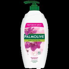 Palmolive (Палмолив) Натурэль Роскошная мягкость Черная Орхидея и Увлажняющее Молочко гель-крем для душа, 750 мл