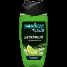 Palmolive (Палмолив) MEN Заряжающий Лимонный взрыв мужской гель для душа 2 в 1 для тела и лица, 250 мл