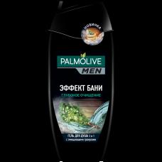Palmolive (Палмолив) MEN Эффект бани (Глубокое очищение) гель для душа 2 в 1, 250 мл