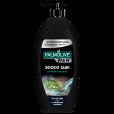 Palmolive (Палмолив) Men Эффект Бани Глубокое Очищение мужской гель для душа 2 в 1, 750 мл