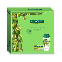"""Подарочный набор Palmolive (Палмолив) Натурэль """"Интенсивное увлажнение"""" (гель для душа 250 мл и туалетное мыло 90 г"""