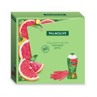 """Подарочный набор Palmolive (Палмолив) """"Супер фуд"""" (гель для душа 250 мл и перчатка в подарок)"""