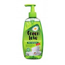 7758 Средство для мытья посуды GREEN LOVE (Грин Лав), 500 мл