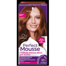 Краска-мусс Perfect Mousse (Перфект) 670 Пикантный Медный