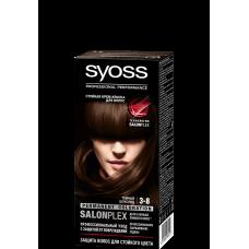 """0012 Краска """"SYOSS Color"""" (Сйосс колор)  3.8 Темный шоколад"""