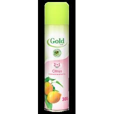 258.06 Освежитель воздуха GOLD WIND (Голд Винд) Citrus (Цитрус) 300мл.