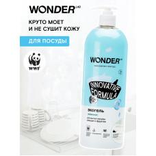 WONDER LAB \ Экогель для мытья посуды Нейтральный 1000мл