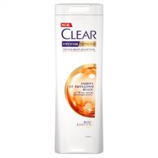4970  шампунь Clear/Клер против перхоти Защита от выпадения волос 400 мл