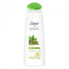 3354  шампунь Dove/Дав Детокс с чаем матча и рисовым молоком 250 мл