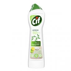 1329 чистящий крем  Cif/сиф универсальный  без фосфатов и парабенов Сила Природы 450 мл