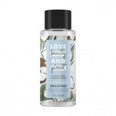 1326шампунь  Love Beauty&Planet/лав бьюти энд плэнет  для волос Объем и Щедрость 400 мл