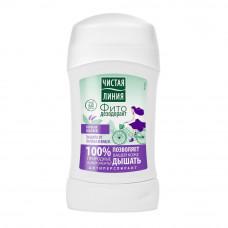2348 дезодорант  Чистая Линия Защита от запаха и влаги антиперспирант- Вербена, Шалфей 40 мл