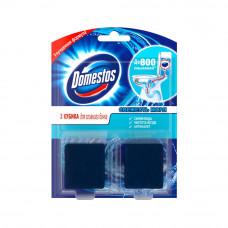3793 туалетный кубик для сливного бачка Domestos /доместос Свежесть моря 2х50 гр