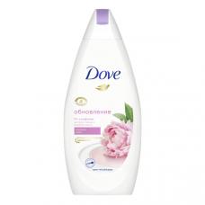 /НДМ/9996 крем-гель для душа  Dove/дав бессульфатный Сливочная ваниль и пион с розовым маслом 500 мл