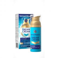 0390 крем-эликсир  Черный Жемчуг Dream Cream /Дрим крем Естественное сияние Ночной 50 мл