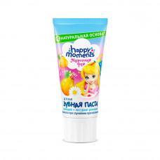 5773  зубная паста Happy Moments Маленькая Фея детская Жемчужная улыбка Волшебный фрукт 60 мл