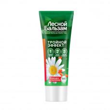 /НДМ/4447 зубная паста на отваре трав Лесной Бальзам  Тройной эффект с ромашкой и облепихой 20 мл