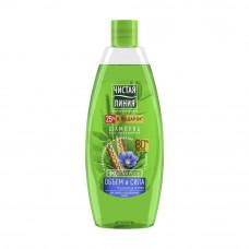 /НДМ/7155 шампунь Чистая Линия для тонких и ослабленных волос Пшеница 600 мл