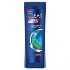 3327/0913 шампунь  Clear Men /Клеар мен для мужчин антибактериальный эффект Ледяная свежесть с ментолом 400мл