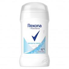 0073 дезодорант Rexona/рексона антиперспирант-карандаш Легкость хлопка 40 мл