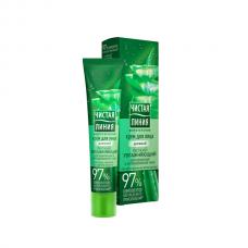 0649  дневной увлажняющий крем для лица Чистая Линия для нормальной и комбинированной кожи 40 мл/Unilever/