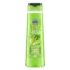 6683/1464 шампунь и бальзам Чистая Линия 2в1  для всех типов волос Хмель 400 мл/unilever/